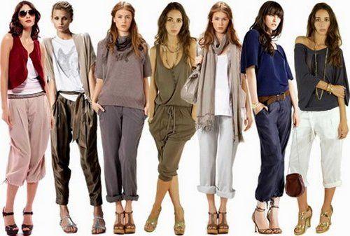 Какие бывают стили женской одежды